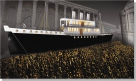 Artists impression of The Voyage...