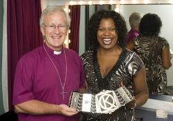 Bishop David Urquhart and Brenda Edwards