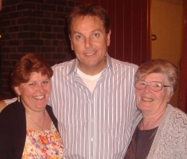 Pat & Christine with Brian Conley