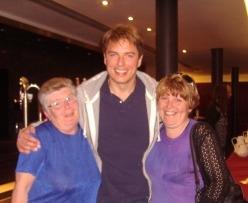 Pat & Christine with John Barrowman