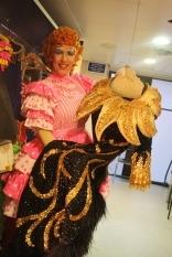 Andrew with Danny La Rue's finale costume...