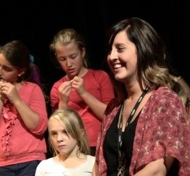 Rachel at the 2013 Summer Workshops...