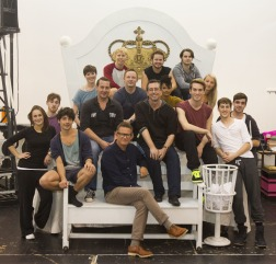 Matthew Bourne and the Lord of the Flies team