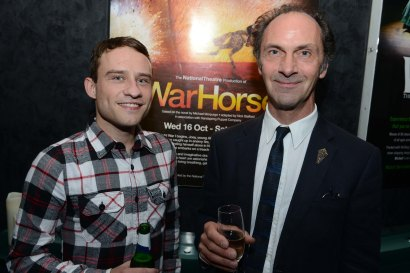 Peter Ash (Billy) and Toby Sedgewick (Director of Movement)