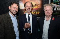 Rob Macpherson, Toby Sedgewick (Puppetry director) and Stuart Griffiths