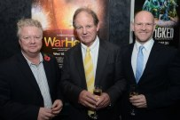 Stuart Griffiths, Michael Morpurgo and Chris Harper