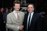 Tom Morris (Co director) and Alex Sims (Director of WarHorse on tour