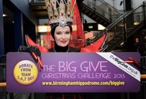 Stephanie Beacham supports The Big Give