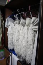 The 'Swan Legs' in wardrobe