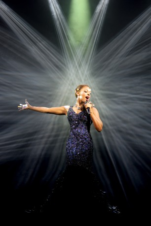Alexandra Burke in The Bodyguard (Photograph of West End production) - 4670 - Photo by Paul Coltas