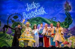 Jack and the Beanstalk. Birmingham Hippodrome. 18th December 2014.