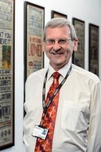 Birmingham Hippodrome Heritage Project Volunteer Ivan Heard