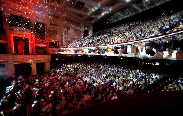 Birmingham Hippodrome auditorium credit Stewart Helmley
